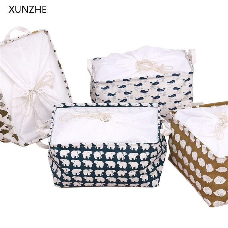 XUNZHE Multi-Функция рабочего Коробка для хранения нижнее белье носки организаторы канцелярские игрушка косметический Ювелирные разное Корзина...