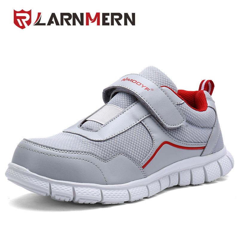 LARNMERN Men Steel Toe Work Safety Shoes Lightweight Breathable Casual Soft Sole sneaker Non Slip Puncture Proof With Magic Tape france tigergrip waterproof work safety shoes woman and man soft sole rubber kitchen sea food shop non slip chef shoes cover