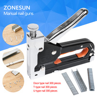 Multi Tool Nail Staple Gun Furniture Stapler For Wood Door Upholstery Framing Rivet Gun Kit Nailers