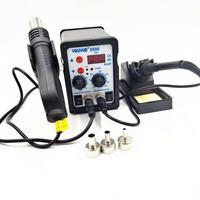 220V 110V 700W Soldering Station YOUYUE 8586 2 In 1 SMD Rework Station Hot Air Gun