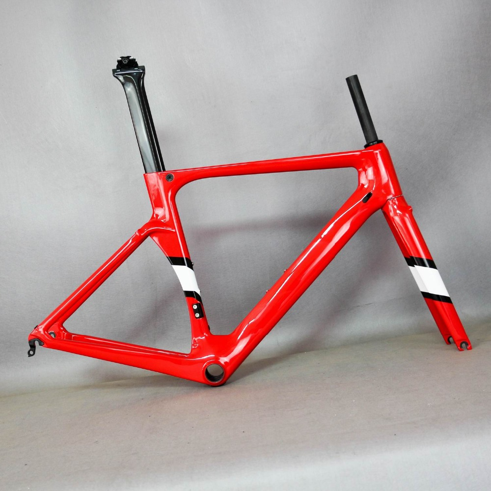 Custom Painting New Carbon Road Bike  FM-R06 New Carbon Fiber Road Frame ,chinese Bicycle Frame Any Color