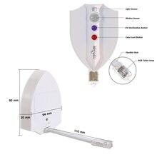 UV Sterilization Toilet Light Motion Sensor Activated RGB PIR LED Night Light Battery-Operated Creative Toilet Bowl Lights