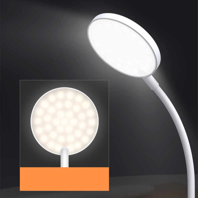 Xiaomi Yeelight Smart LED Lampu Klip Pada Malam Lampu Usb Isi Ulang 360 Derajat Disesuaikan Memiliki 2 Bentuk Versi