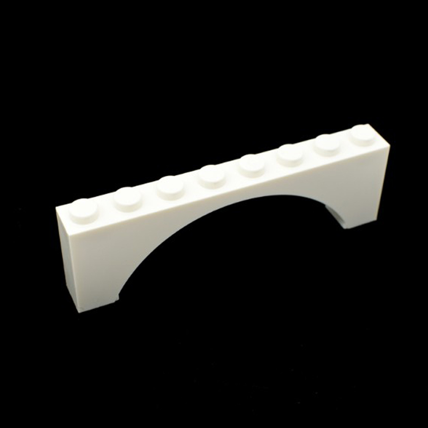 3308 Lego Arch 1x8x2 White x2