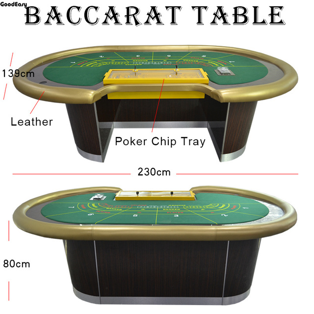 -Casino Baccarat Table Texas Hold'em Poker Indoor Board Game High Quality (Welcome to contact us)