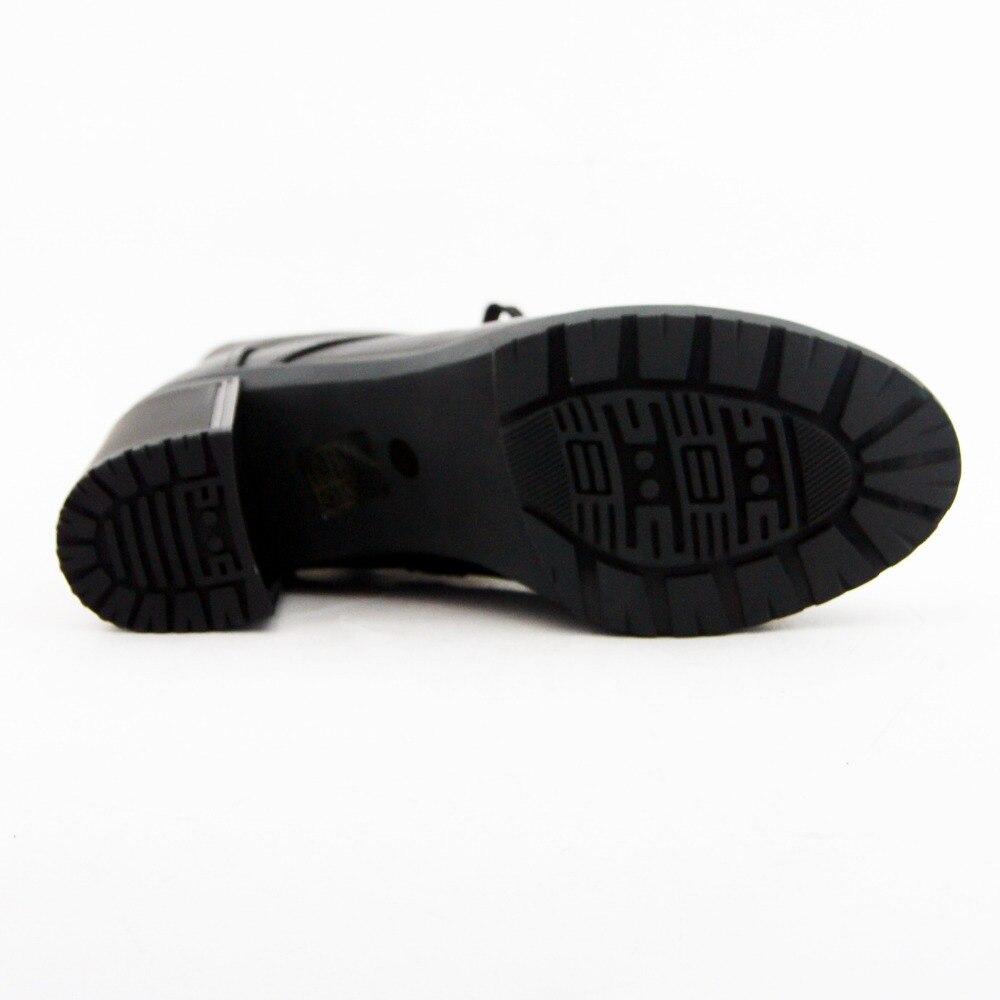 Hauts Talons Femmes Femme Noir Lidian Main Chaussures Rond Court Bottines Véritable Peluche Moto Cuir B22 Bout Bottes En Bx4xnO6S