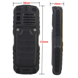 Image 3 - IP67 waterproof shockproof Cell Phones power bank cheap China mobile phone GSM FM Russian keyboard button PHONES H mobile