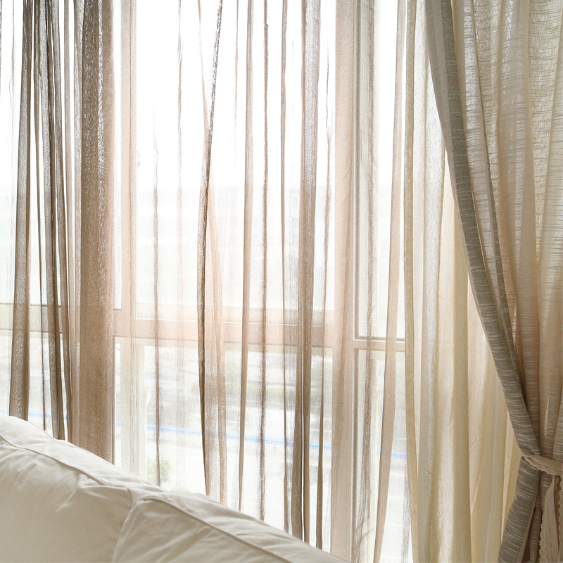 Jo 39 S Warm 54 Tulle Curtains Home Decorations Window Treatments Living Room Divider Sheer Voile