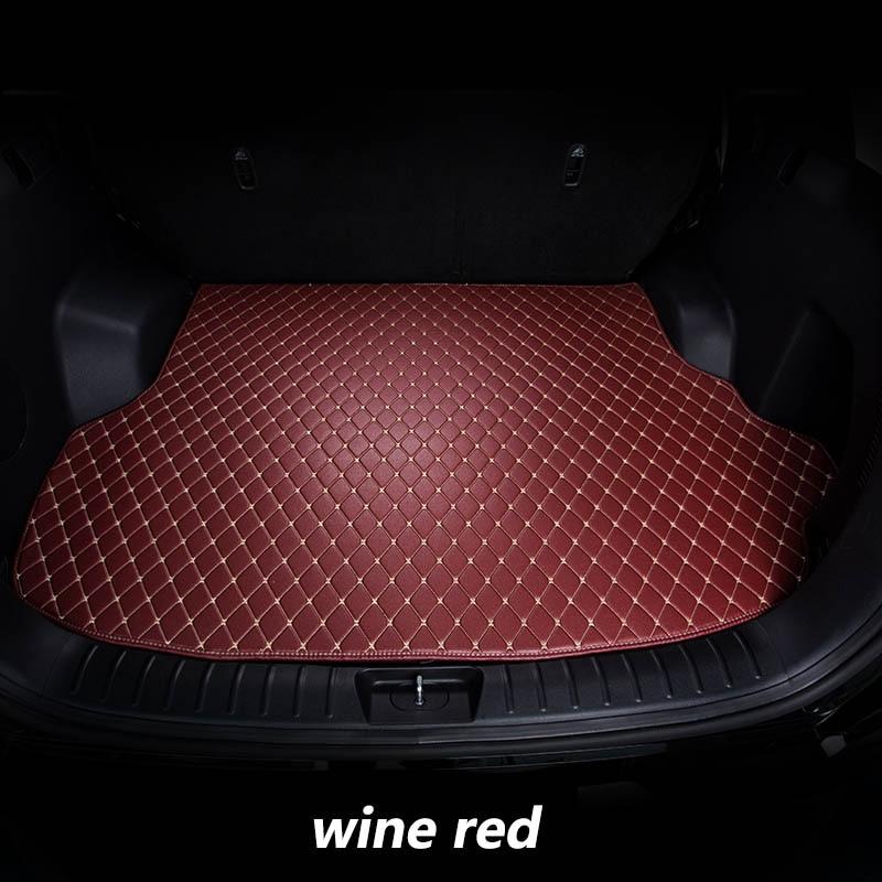 kalaisike Custom car trunk mats for Alfa Romeo Giulia Stelvio 2017 auto styling car accessorieskalaisike Custom car trunk mats for Alfa Romeo Giulia Stelvio 2017 auto styling car accessories