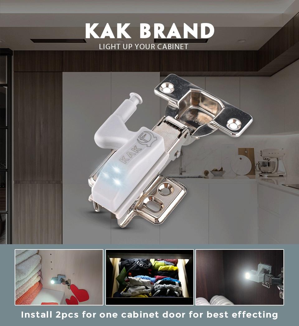 373d5d49292e9 ᐂKAK العالمي المفصلي ضوء المطبخ غرفة نوم المعيشة خزانة للغرفة دولاب ...