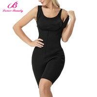 Lover Beauty Women Full Body Shaper Sporting Sweat Neoprene Enhancing Bodysuit Sauna Tank Top Vest Firm Control Shapewear A