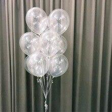 10 шт./партия 10 дюймов ясно латексные гелиевые шары выражение воздушные шары на день рождения Свадебная вечеринка украшения поставки детские игрушки Globos