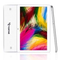 K107 Yuntab 10.1 ''Tableta de la Llamada de Teléfono 1 GB + 16 GB Quad-Core Phablet con Cámara Dual Desbloqueado Ranuras Para Tarjetas Dual Sim Bluetooth GPS
