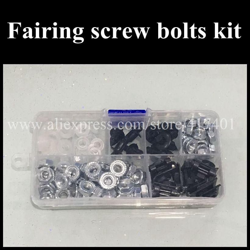 ФОТО Fairing bolts kit For HONDA CBR900RR 929 CBR900 CBR 900 900RR 2000 2001 00 01 Body Fairing Bolt Screw Fastener Fixation Kit H32