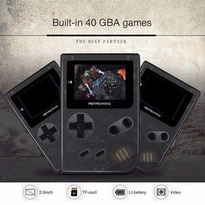 Image 5 - Coolbaby consola de juegos Retro portátil de 32 bits, Mini consola de juegos portátil con 169 juegos clásicos de GBA, juguete para niños