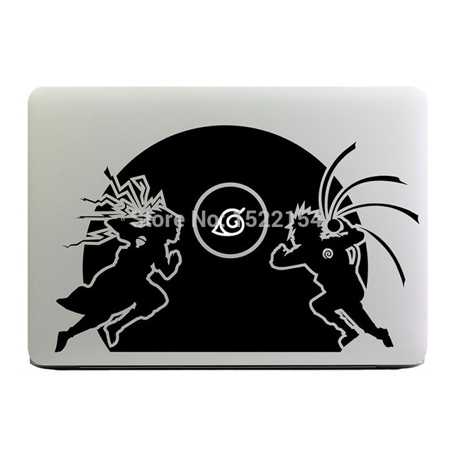 Glowing Naruto Laptop Sticker for Apple Macbook Pro