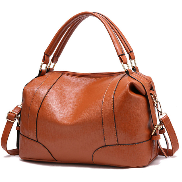 78151e6b19f7 Women Solid Medium Totes Casual Zipper Shopping Handbag Hot Sale Lady Party Purse  Crossbody Shoulder Messenger Bags