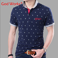 Men Polo Shirt New Fashion Breathable Summer Polo Homme Print Shirts Tops&Tees Men's Clothing Cotton Shirts Big Size For Men 6XL