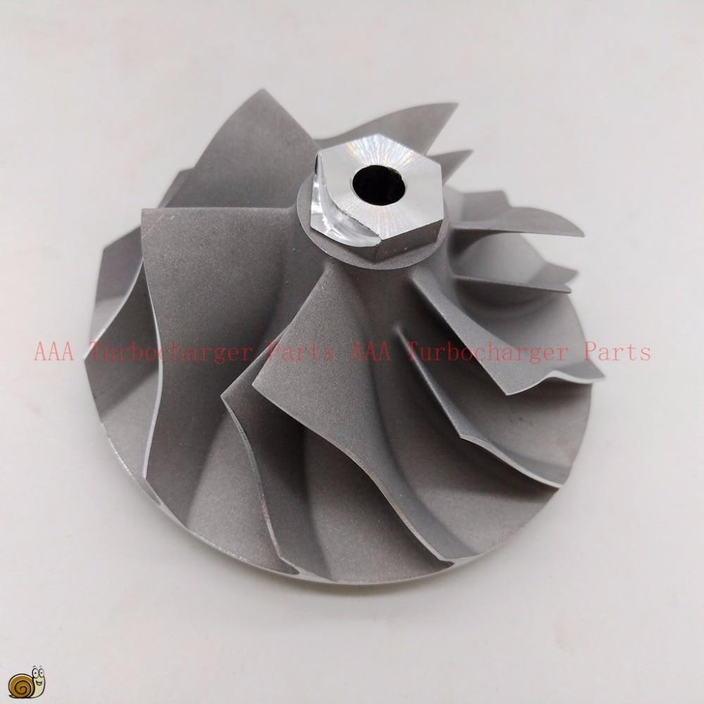T04E Turbo Compressor Wheel  56.5x76.2mm,6/6 Blades Supplier AAA Turbocharger Parts