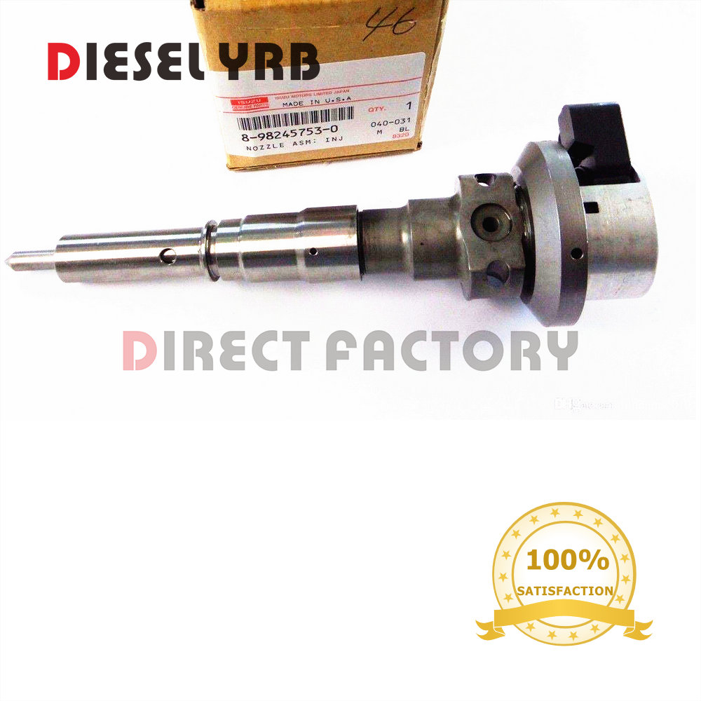 GENUINE NEW DIESEL COMMON RAIL FUEL INJECTOR 8982457530, 8971925963, 8-98245753-0, 8-97192596-3 FOR TROOPER 3.0LGENUINE NEW DIESEL COMMON RAIL FUEL INJECTOR 8982457530, 8971925963, 8-98245753-0, 8-97192596-3 FOR TROOPER 3.0L