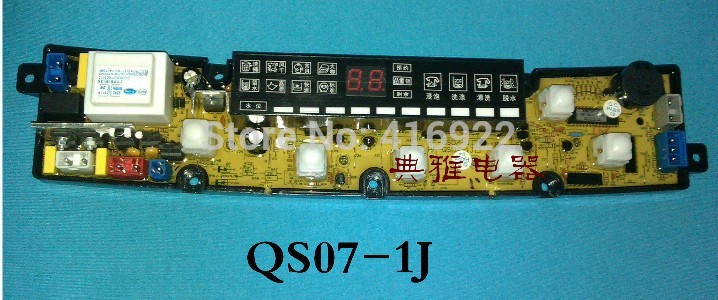 Free shipping 100% tested for Konka washing machine board xqb56-556 motherboard qs07-1 on slae 100% tested for washing machine board wd n80051 6871en1015d 6870ec9099a 1 motherboard used board