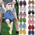 15 Цветов Марка Весна Детская Обувь ИСКУССТВЕННАЯ Кожа Новорожденных Мальчиков Обувь для Девочек Первые Ходунки Детские Мокасины 0-18 Месяцев