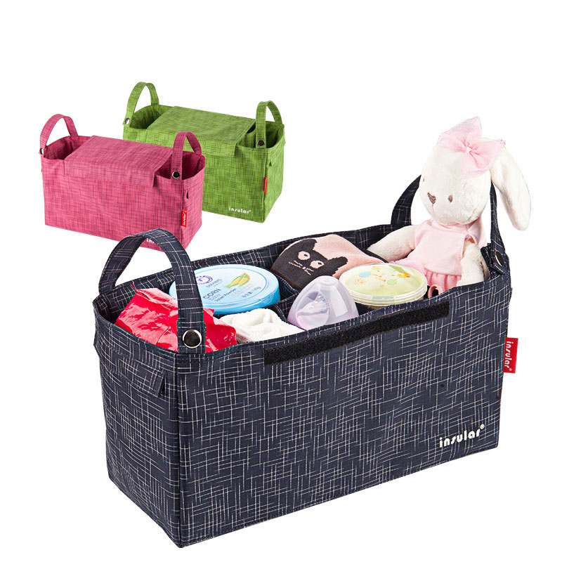 Baby Stroller Bag Organizer Infant Toddler Nappy Diaper Bag Multifunctional WaterProof Mummy Maternity Bag Stroller Accessories