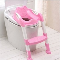 Baby Potty Seat With Ladder Children Toilet Seat Cover Kids Toilet Folding infant potty chair Training Portable pinico troninho