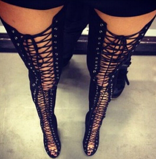 27+ Over The Knee Thigh High Boots Plus Size JPG