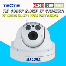 Full HD 1080P 2.0MP Wireless PTZ Dome IP Camera with Pan/Tilt/Zoom 4X optical zoom 2.8-12mm TF/Micro SD Card Slot Low Lux ONVIF