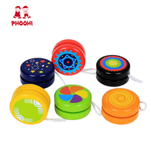 Wooden Yoyo Professional Toy Children Classic Toys Cool Magic Sport Outdoor Classic Play yo yo Ball yo-yo Toy For Kids PHOOHI new arrive yoyo empire big bang yoyo cnc yoyo for professional yo yo player professional advanced ball pom material