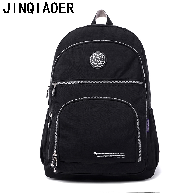 Casual Women Laptop Backpack Waterproof Nylon Women's Youth Printing Backpack Schoolbag Bagpack For Teenagers School Bag