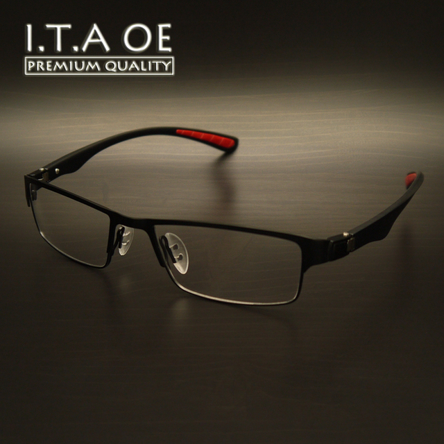 eb7320ff44 ITAOE P8271 Business Style Alloy Tr90 Elastic Temples Men Women Unisex Optical  Eyewear Frames Glasses Spectacles