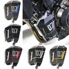 5 Colors Aluminum Motorcycle Radiator Water Coolant Recovery Tank Shielding Guard Cover For Yamaha FZ 07