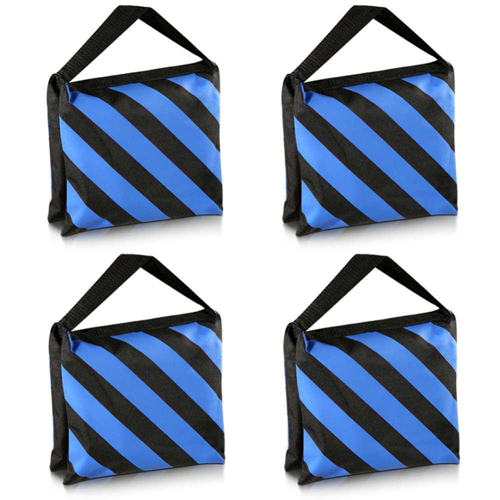 Neewer 4-Pack Empty Photographic Sandbag Studio Video Stage Film Sand Bag Saddlebag-9x10inches/23x25centimeters,20 pounds LoadNeewer 4-Pack Empty Photographic Sandbag Studio Video Stage Film Sand Bag Saddlebag-9x10inches/23x25centimeters,20 pounds Load