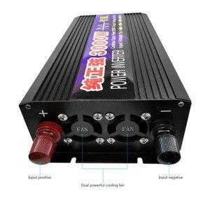 Image 4 - SUNYIMA 3000W 12V/24V Zu 220V Reine Sinus Welle Auto Power Inverter Power Conversion Booster doppel Digital Display Für Haushalt