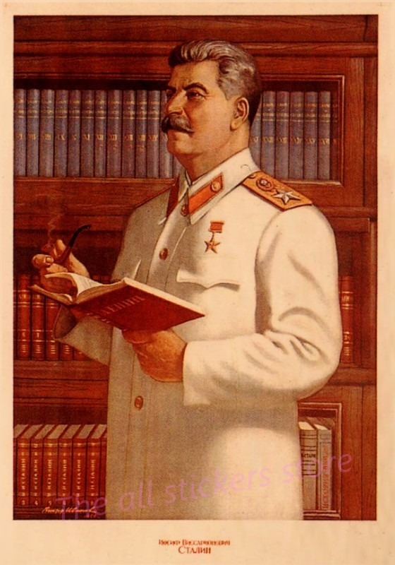 Classic Stalin Of The Soviet Union Previous Posters Easy Artistic Kraft Paper Posters Basic Ornamental Portray Artwork Work