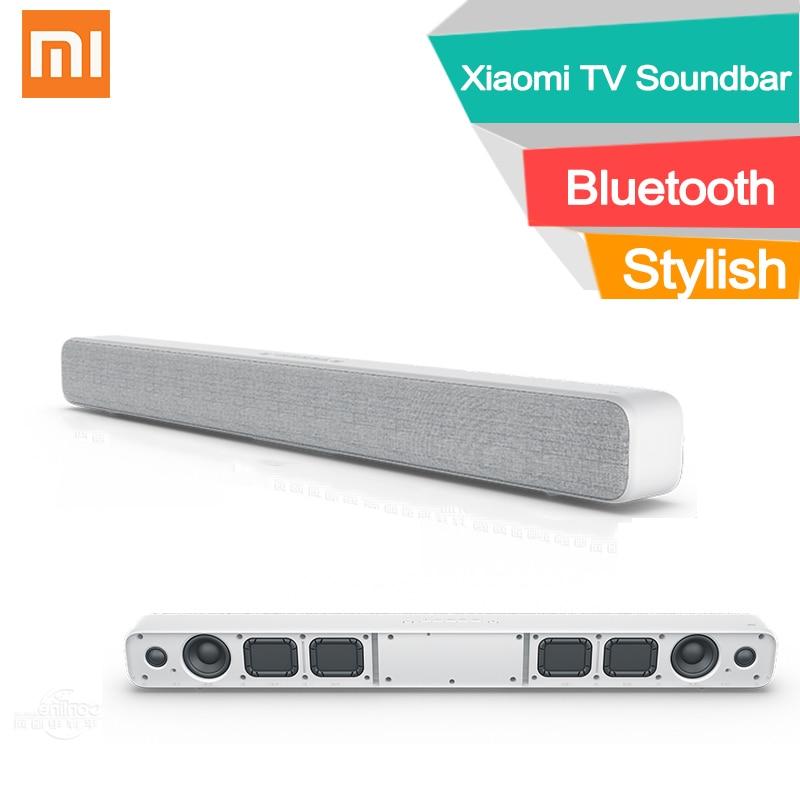 Xiaomi bluetooth TV soundbar wireless Optical SPDIF AUX wall seat mounting Stylish Fabric sound bar speaker