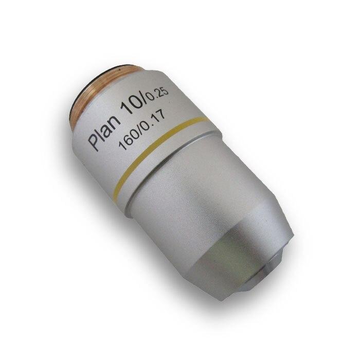 10X برنامه لنزهای هدف Achromatic 195 هدف برای - ابزار اندازه گیری