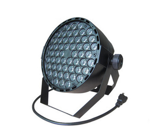 купить 54  RGBW Led Par Light DMX Stage Lights Wash Dimming Strobe Lighting Effect Lights for Disco DJ Party AC110-220V дешево