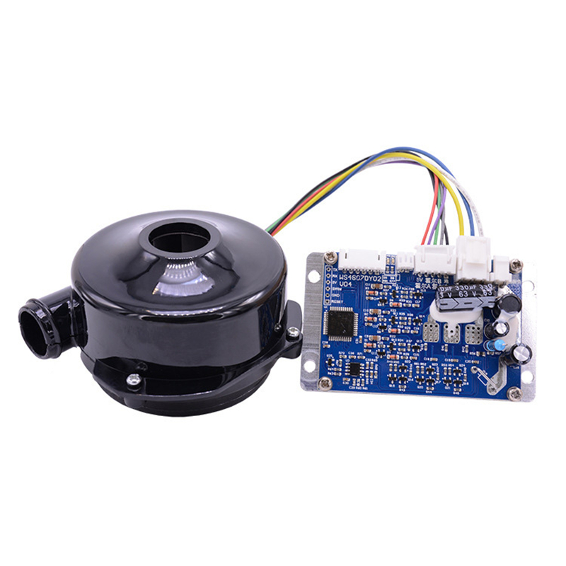 12v 800LPM 24000rpm Brushless DC Powerful Fan Mini BLDC Centrifugal Electric Air Blower With 7kPa Pressure For Air Purifier JL