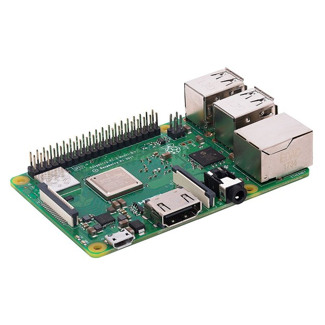 Rs 구성 요소 raspberry pi 3 b +/raspberry pi 3b plus 마더 보드