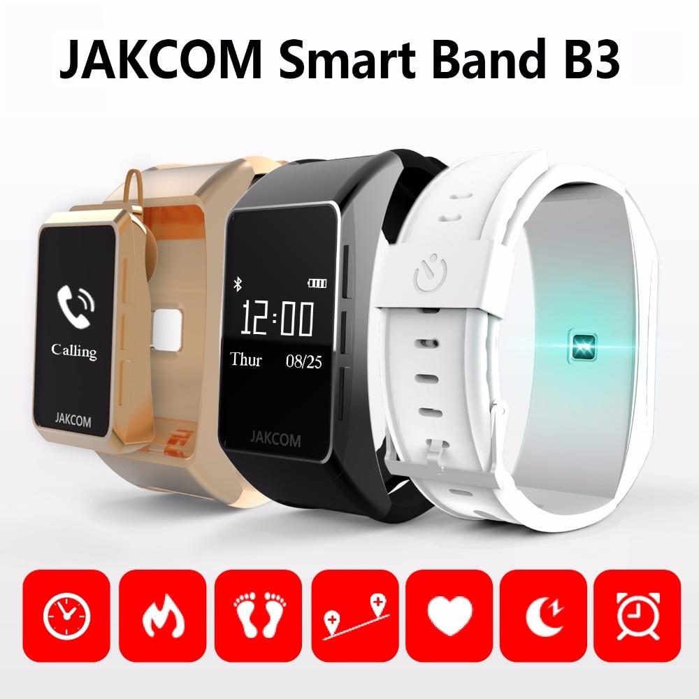 imágenes para Jakcom b3 banda inteligente nuevo producto de pulseras como smart watch pulsera inteligente bluetooth para android/ios teléfono inteligente pulsera