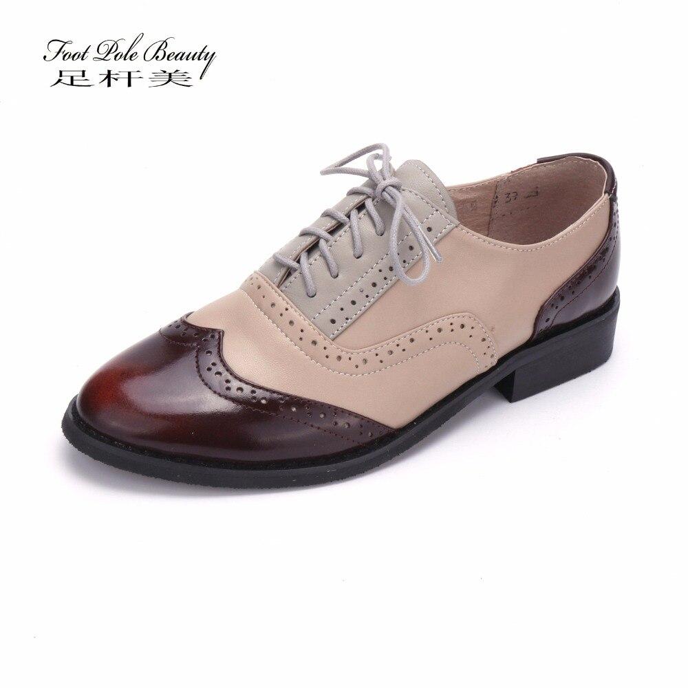 bb44d0f8f0 Zapatos Pisos Manera De Oxford 2018 Mujer Señoras Mocasines Auténtico  Sapatilhas Mujeres Gray La Casuales Cuero YnZ4Exq