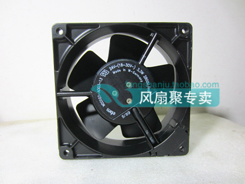 Original ebmpapst W2G107-AD03-13 12CM 12038 24V3.3W Full Metal cooling fan original ebmpapst w2g107 ad03 13 12cm 12038 24v3 3w full metal cooling fan