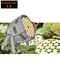 TIPTOP 54x3W теплый белый алюминиевый светодиодный прожектор белый корпус для масляной живописи 4/8 CH DMX-512 диско DJ Освещение стробоскоп