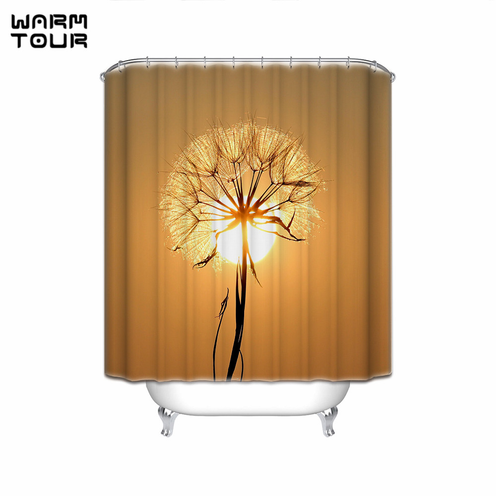 Compare Prices On Shower Curtain Dandelions Online Shopping Buy