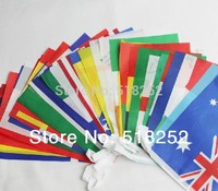 2014 Brazil World Cup 32 Country String Flags Decorating Flag In Bars Free Shipping
