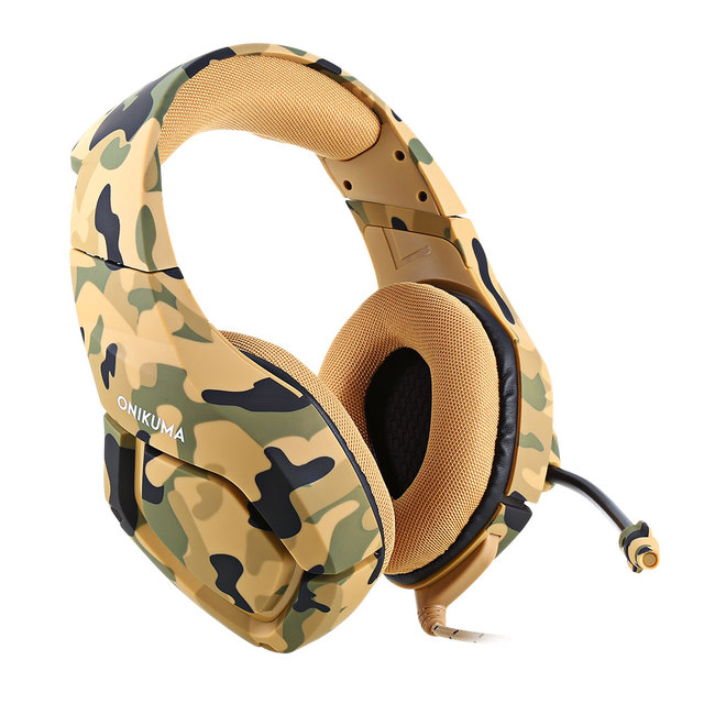 Stereo Wired Gaming Headset Heavy Bass 1