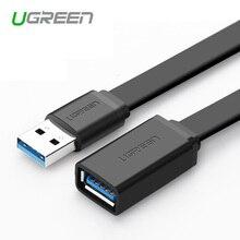 Ugreen Универсальный USB Кабель-Удлинитель USB 3.0 Мужчина к USB Женский Удлинитель Синхронизации Данных Кабель-Адаптер Разъем